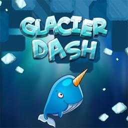 Glacier Dash: Rush Dropping Ice Blocks