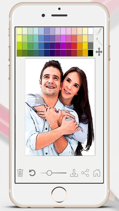 Sketch Photo Effect editor to color your images - Premium screenshot two