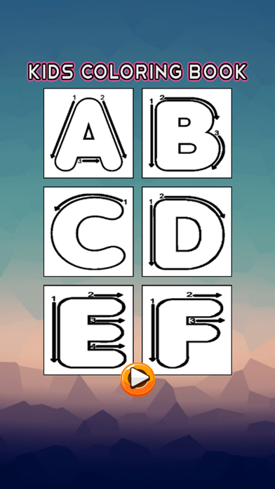 ABC Coloring Book - Alphabets Drawing Pages and Painting Educational Learning skill Games For Kid & Toddler screenshot two