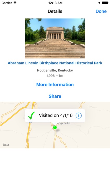 National Park Finder