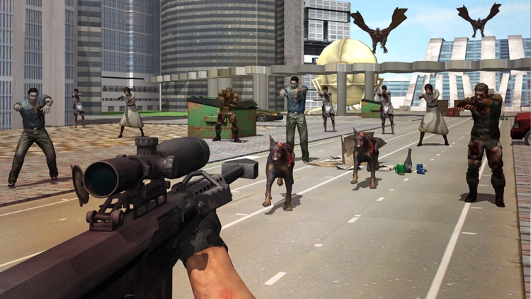 Infected Modern City the Zombie Frontier screenshot-3