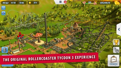 Screenshot from RollerCoaster Tycoon® 3