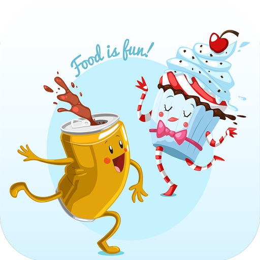 Draw Cute Foods For Ipad By Angia Le