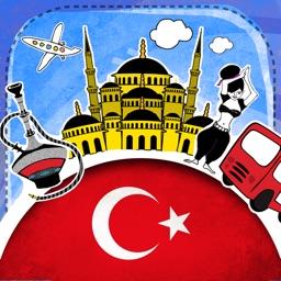 Turkish Phrasi - Free Offline Phrasebook with Flashcards, Street Art and Voice of Native Speaker