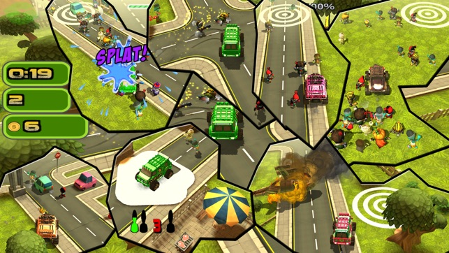 Zombie Driver Game Zombie Catchers in 24 missions Screenshot