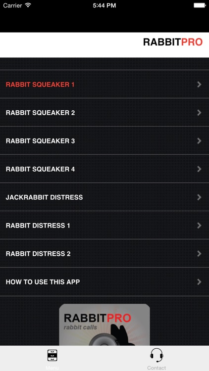 REAL Rabbit Calls & Rabbit Sounds for Hunting Calls - BLUETOOTH COMPATIBLE screenshot-1