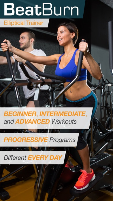 BeatBurn Elliptical Trainer - Low Impact Cross Training for Runners and Weight Loss app