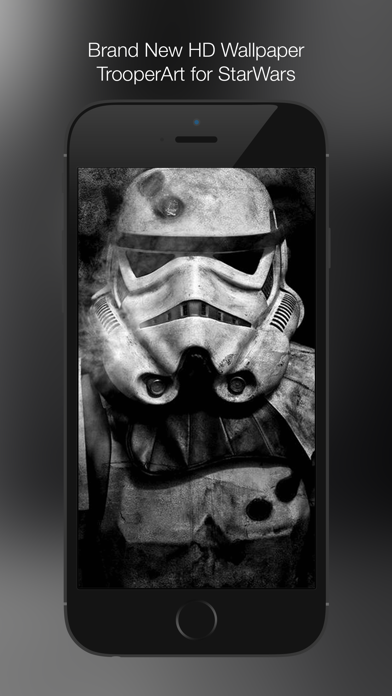 Wallpaper for StarWars: TrooperArt Edition HD