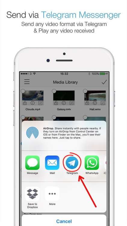 Telegram Player PRO - Media Player for Telegram Messenger