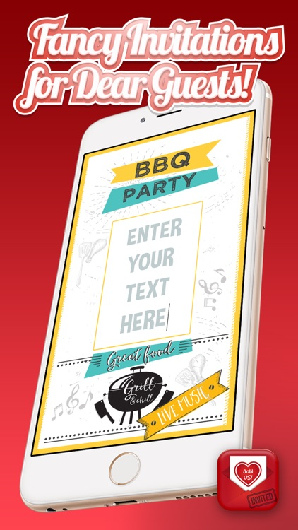 Invitation Cards Maker – Create Best Invitations and Greeting.s for Special Occasions screenshot-3