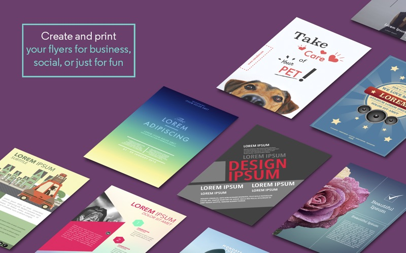 flyer templates for ms word app price drops