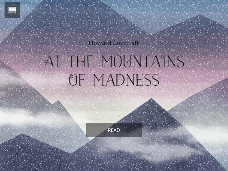 At The Mountains Of Madness Interactive Book