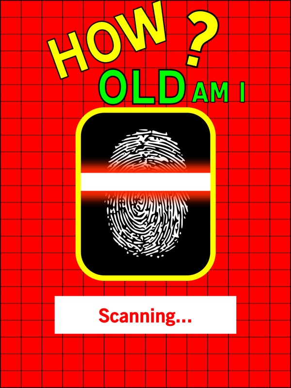 How Old Am I - Age Guess Fingerprint Touch Test Booth + HD - Online