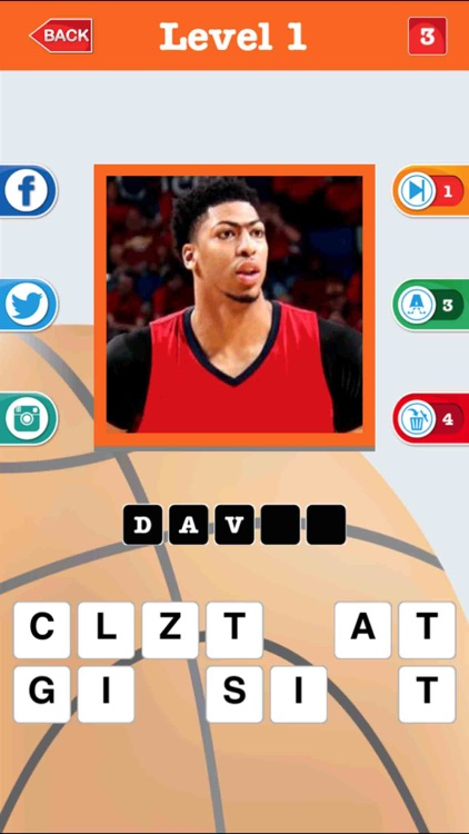 Guess The Basketball Player – Quiz For NBA 2k17