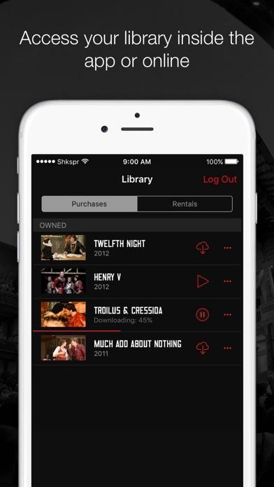 Globe Player – Shakespeare VOD screenshot three