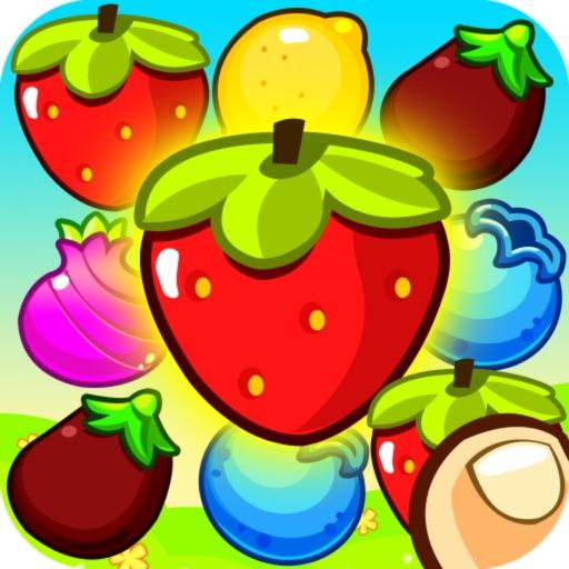 Paradise Fruit Splash: Mania Match3