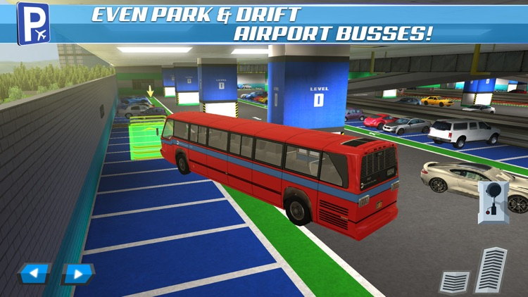 Multi Level Car Parking 5 a Real Airport Driving Test Simulator screenshot-4