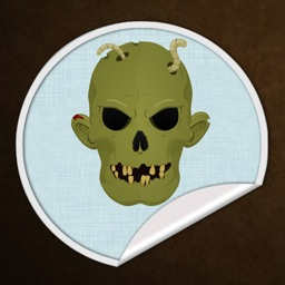 Monsters Face - Stickers