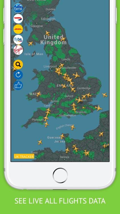 UK Tracker PRO : Live Flight Tracking & Status