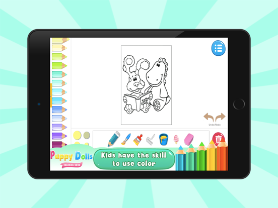 Puppy Dolls Coloring Books | App Price Drops