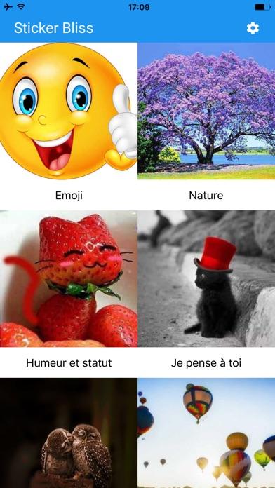 download Sticker Bliss for Messenger apps 2