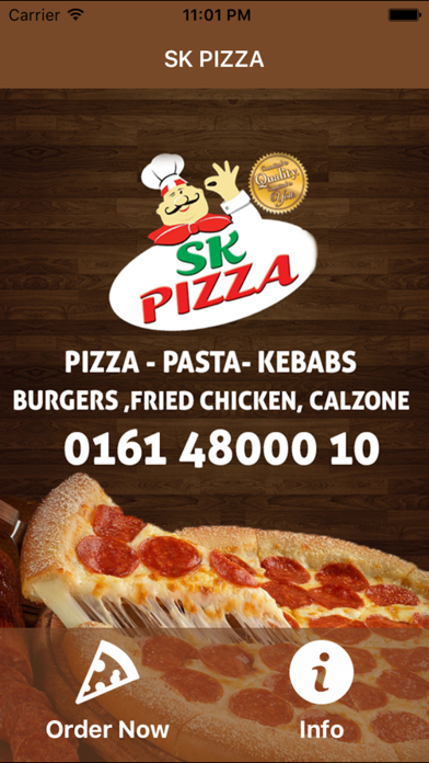 Sk Pizza Stockport By Abdollah Mohammadian On The Appstore