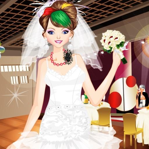 给新娘化妆3
