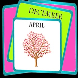 Months of Year Learning For toddlers - A Family Magnetic Calendar