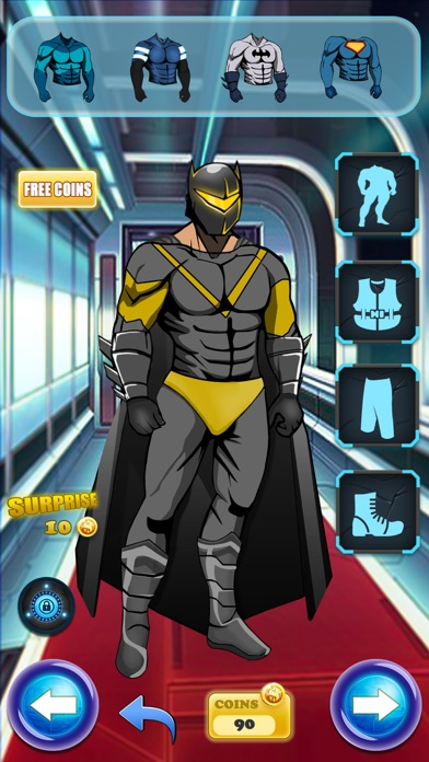 Create Your Own Man SuperHero - Comics Book Character Dress Up Game for Kids & Boys free Resources hack