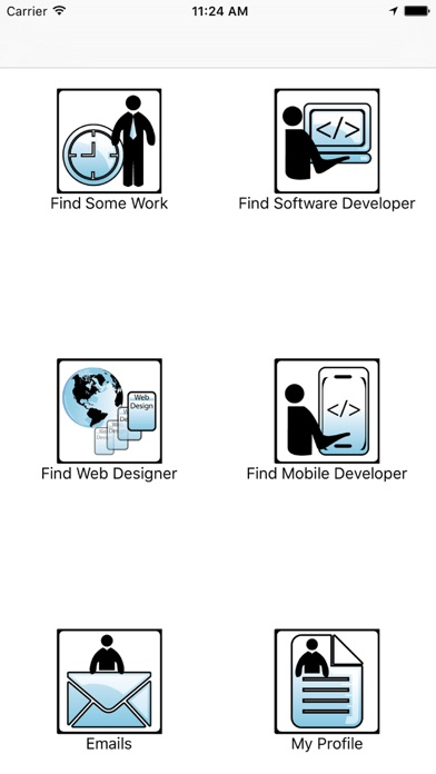 FindLocalGeeks - Are you a freelancer ? Would you like an extra project on the side? This App can help. screenshot two