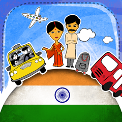 Hindi Phrasi - Free Offline Phrasebook with Flashcards, Street Art and Voice of Native Speaker for India Travel