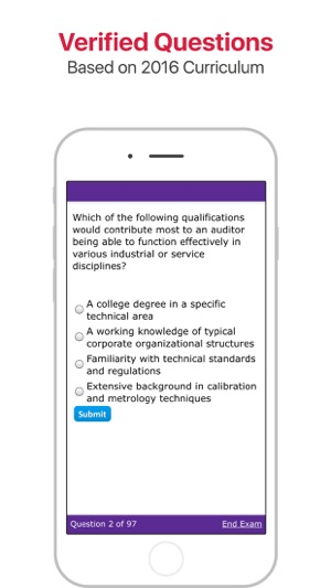 ASQ-CQA: Quality Auditor Certification on the App Store