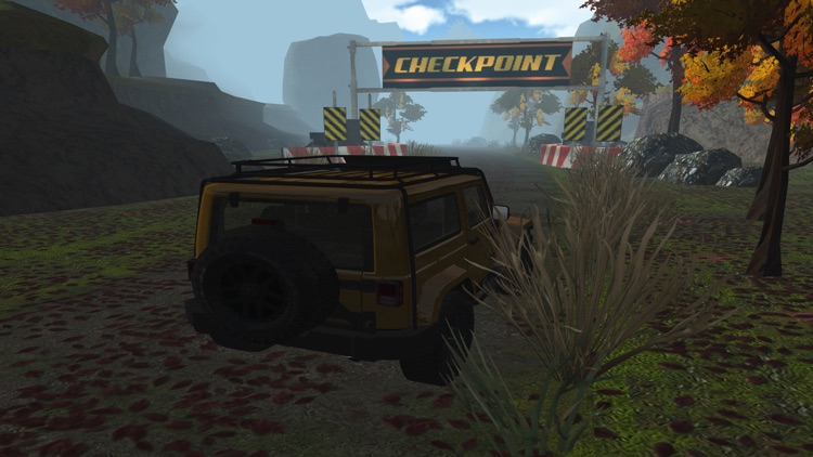 3D 4x4 Off-Road Truck Racing - Extreme Trials Driving Simulator FREE screenshot-4