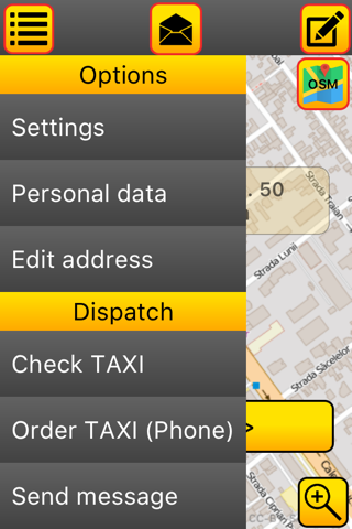 LUX TAXI Client screenshot 2