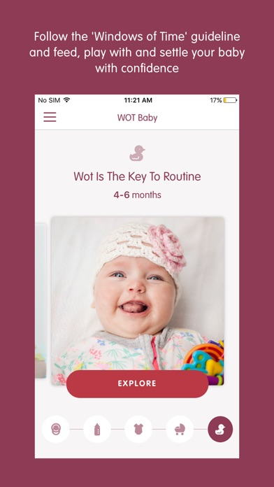 Screenshot for WOT Baby in New Zealand App Store