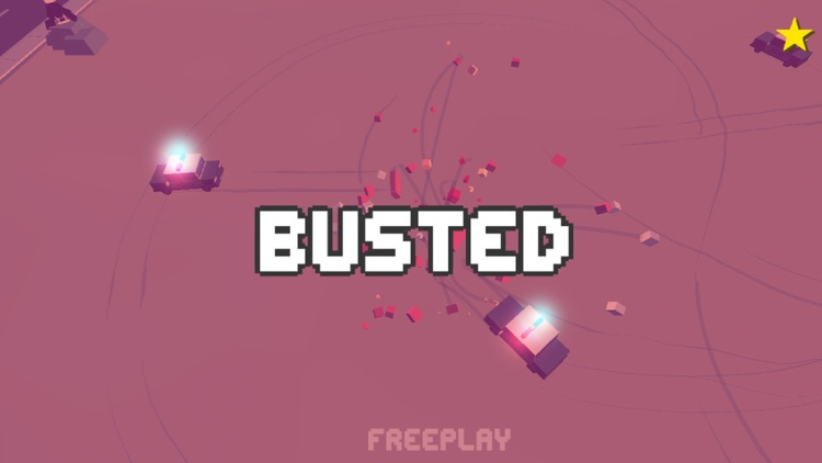 Smashy Dash - Crossy Crashy Cars and Cops - Wanted screenshot-4