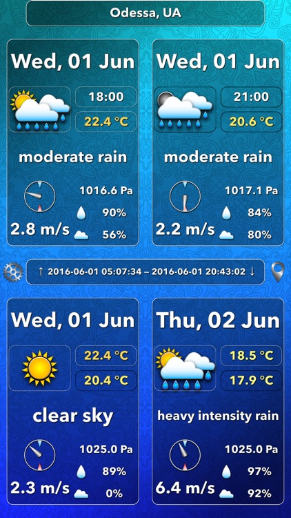 OWeather - weather forecast and weather maps screenshot-3