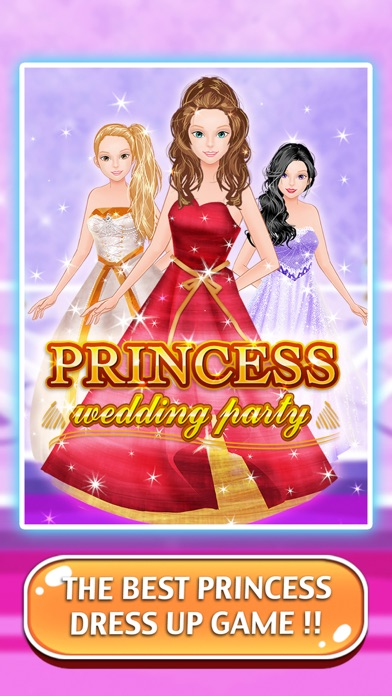 Princess Party - A little girl dress up and salon games for