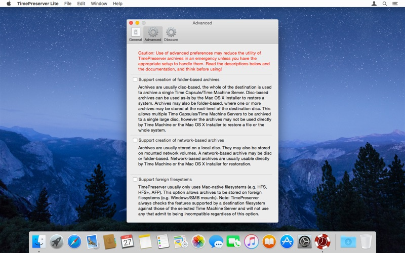 TimePreserver Lite for Mac