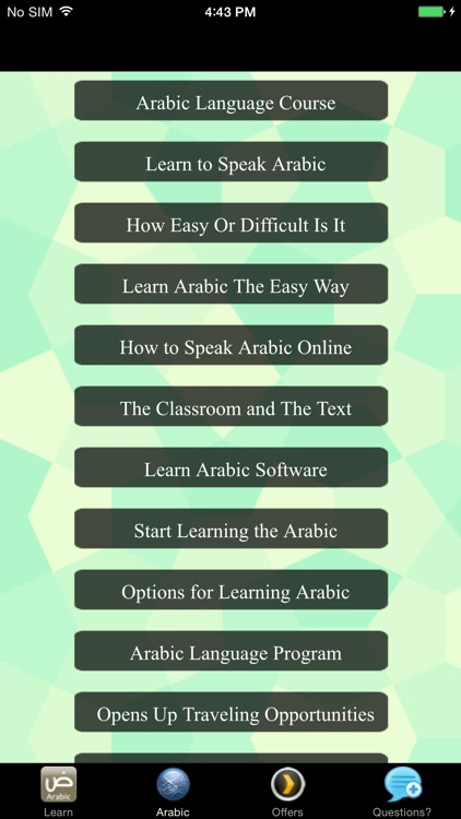 Learning Arabic For Beginners - Quick Guide