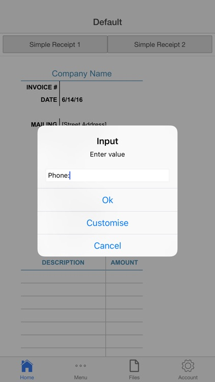 Company Receipt screenshot-4