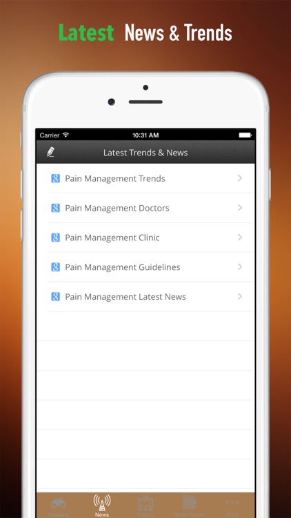Pain Management 101: Glossary with Video Lessons and Trends screenshot-3