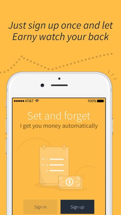 Earny - Automatic money back screenshot-4