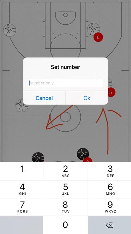 Basketball Tactic Board screenshot-4