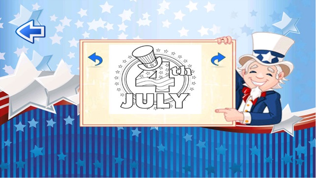 Coloring Pages United States : Th of july independence day coloring pages of united states of