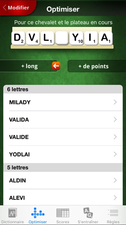 L'Officiel du SCRABBLE® Dictionnaire screenshot-3