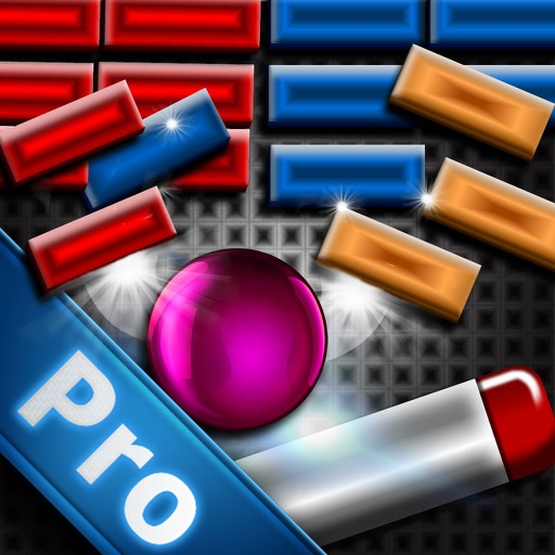 Breaking Bricks Like Crazy Pro -  Breakout Game