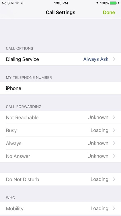 Windstream Hosted Communications for iPhone screenshot-4