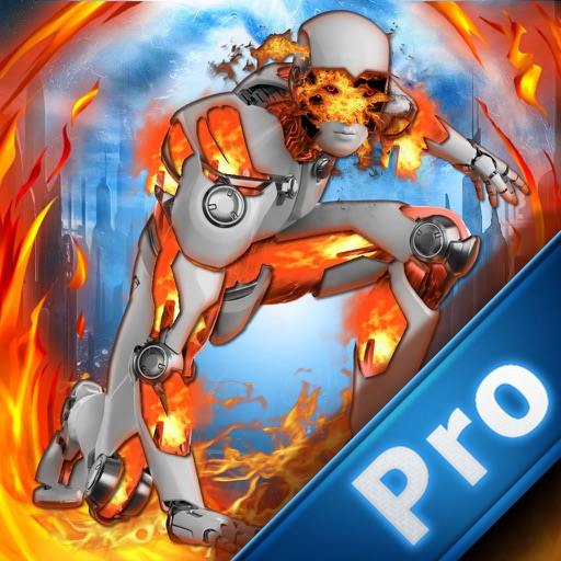 Cyborg Fire Jump Pro - Steel Robot Strike icon