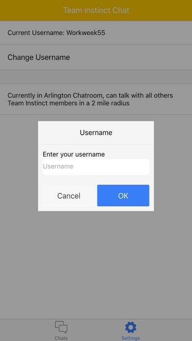 Area Chat - for Team Instinct